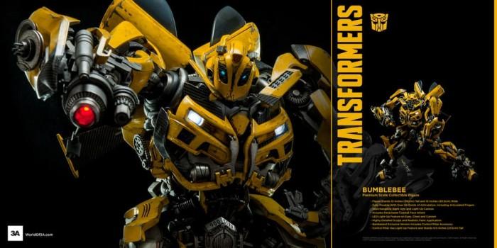 Jual ThreeA 3A Transformers Dark of the Moon Bumblebee - Kota Surabaya -  Black Rebellion | Tokopedia