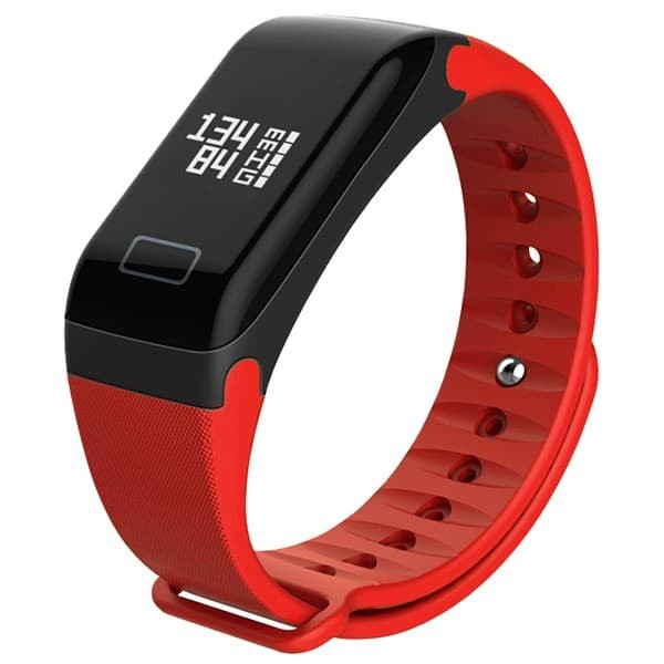 harga Wearfit blood pressure oxygen monitor smart bracelet fitness tracker - merah Tokopedia.com