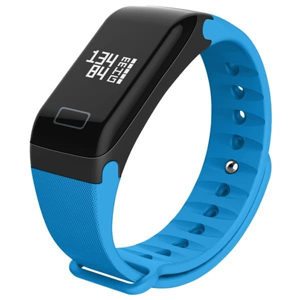 harga Wearfit blood pressure oxygen monitor smart bracelet fitness tracker - biru Tokopedia.com