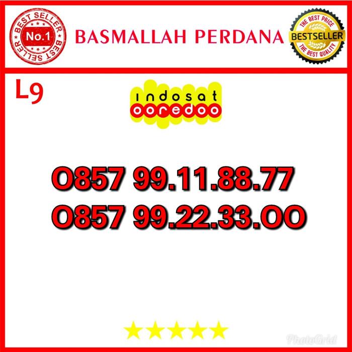 Nomor Cantik Ooredoo IM3 Seri kwartet AA 99223300 0857 99 11 88 77 L09