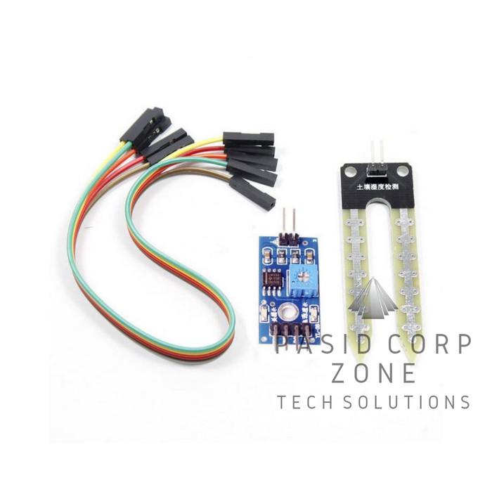 Jual Sensor Kelembaban Tanah/Soil Moisture Hygrometer Module YL-38 YL-69 -  Kota Medan - PASID TECH   Tokopedia