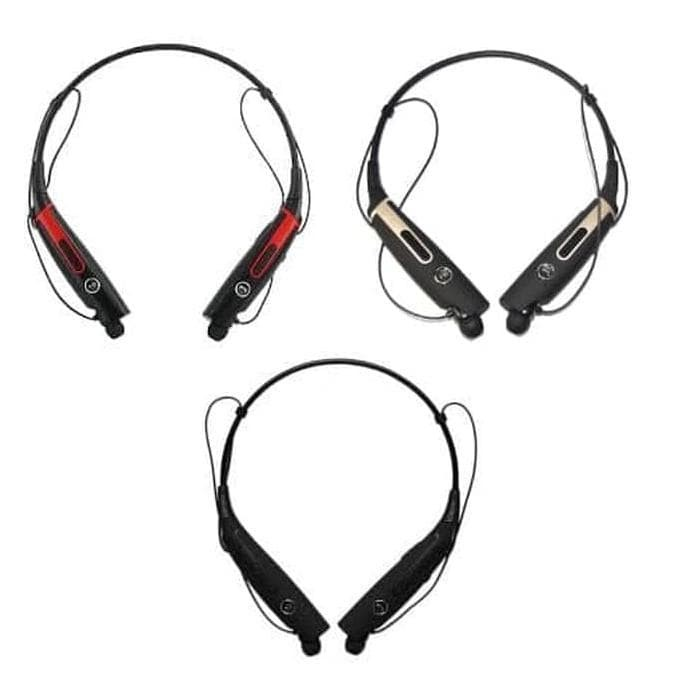 Jual Headset Bluetooth Stereo Kalung HBS 730S Wireless Headset
