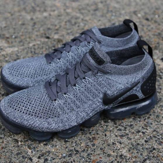 5238365c8e16f Jual Sepatu Nike Vapormax 2.0 flyknit Dark Grey Oreo - Kota ...
