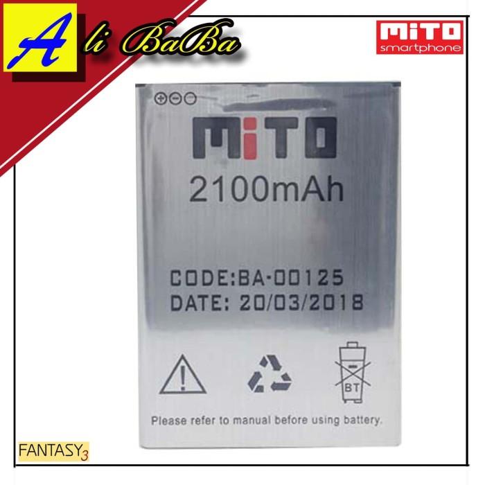harga Baterai handphone mito a69 fantasy 3 ba-00125 batre hp mito a69 batre Tokopedia.com
