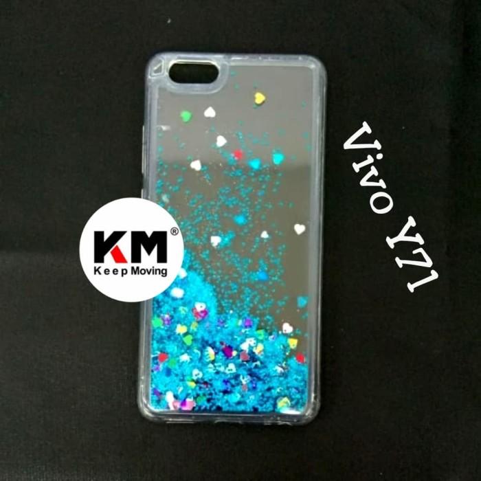 Case Water Glitter Vivo Y71 Softcasa TPU