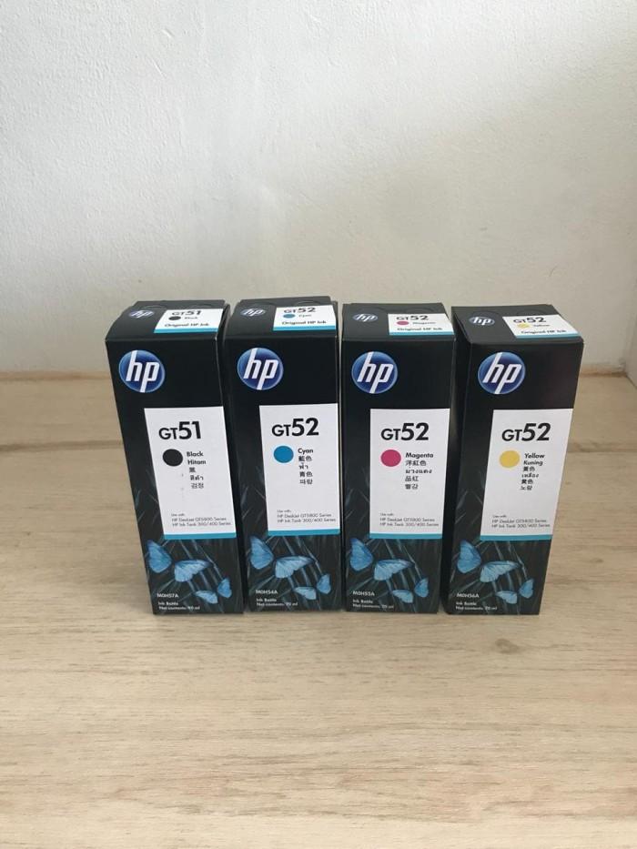 Foto Produk Tinta HP GT51 & GT52 Botol Original - Biru dari myprinter.id