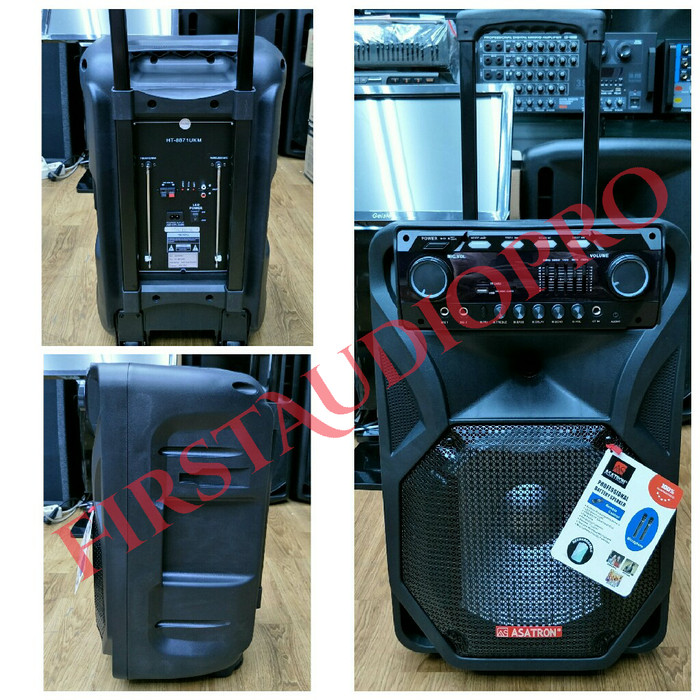 harga Speaker portable wireless meeting asatron ht-8871 ukm ( 12 inch ) Tokopedia.com