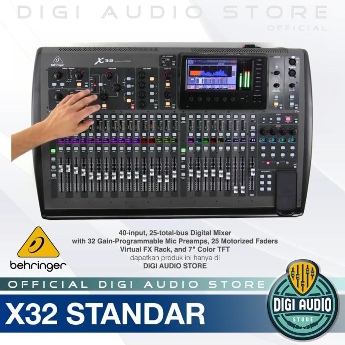 harga Behringer x32 [ x 32 ] digital audio mixer 40 input with midas preamp Tokopedia.com
