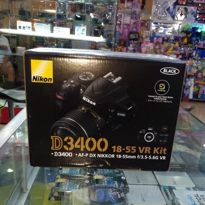 harga Nikon d3400 af-p 18-55mm vr kit Tokopedia.com
