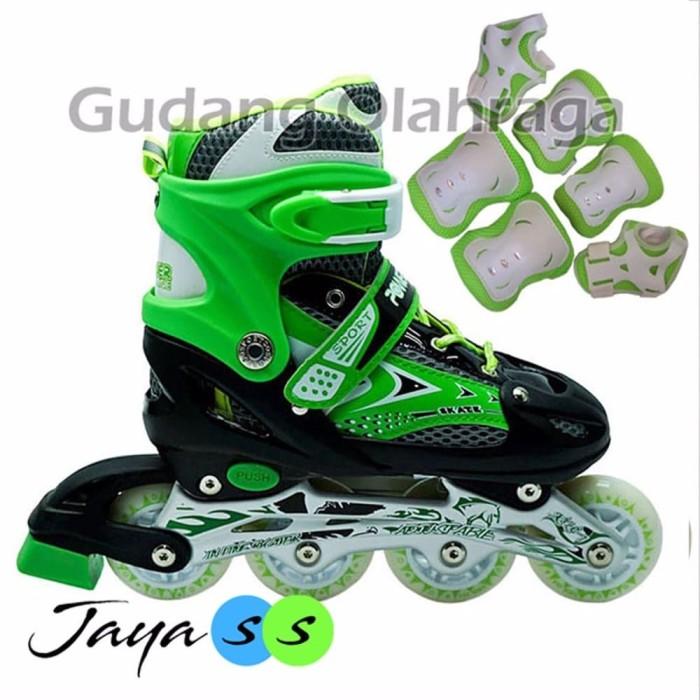 Jual OBRAL Sepatu Roda Deker Pelindung Inline Skate Satu Set ... cfa505b6c2