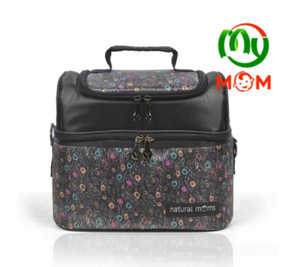 Cooler bag tas asi natural moms black phoenix free 2 ice gel / mymom