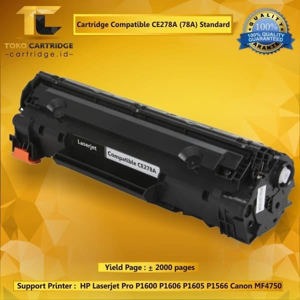 harga Cartridge toner compatible hp ce278a 78a canon crg 128 328 728 Tokopedia.com