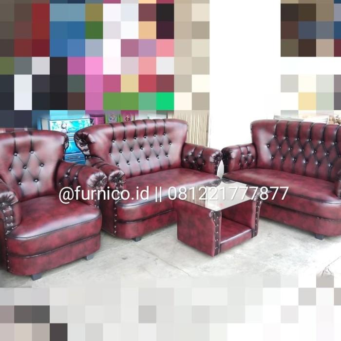 Jual Sofa Jaguar Mini 221 Merah Mewah Free Ongkir Premium Kota
