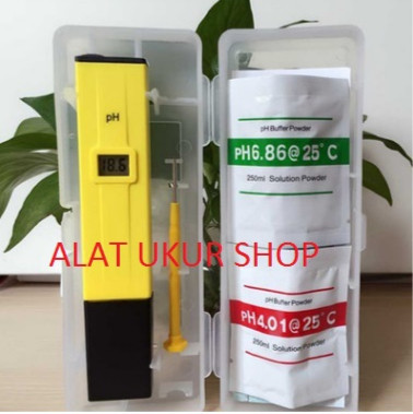 Foto Produk Ph Meter Alat Ukur Air Hidroponik Ph Meter Digital Ph Air Digital Ph dari Alat Ukur Dan Repeater