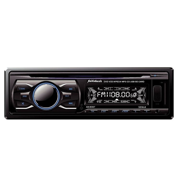harga Audiobank ab 8087 single din head unit player dvd Tokopedia.com
