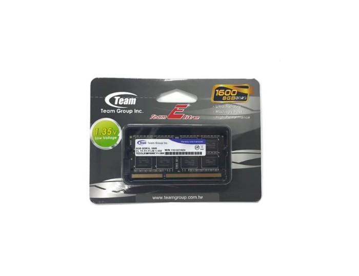 harga Team memory notebook 8gb pc 1600 ddr3l 1.35v Tokopedia.com