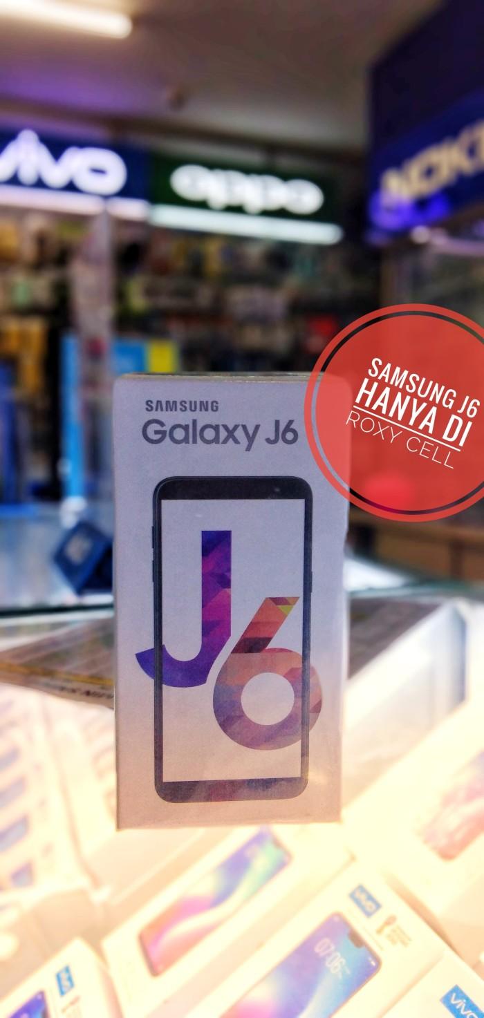 Jual SAMSUNG GALAXY J6 2018 SM-J600G RAM 3GB ROM 32GB 64 BIT - Kab  Kediri  - Roxy Cell Group 351 | Tokopedia