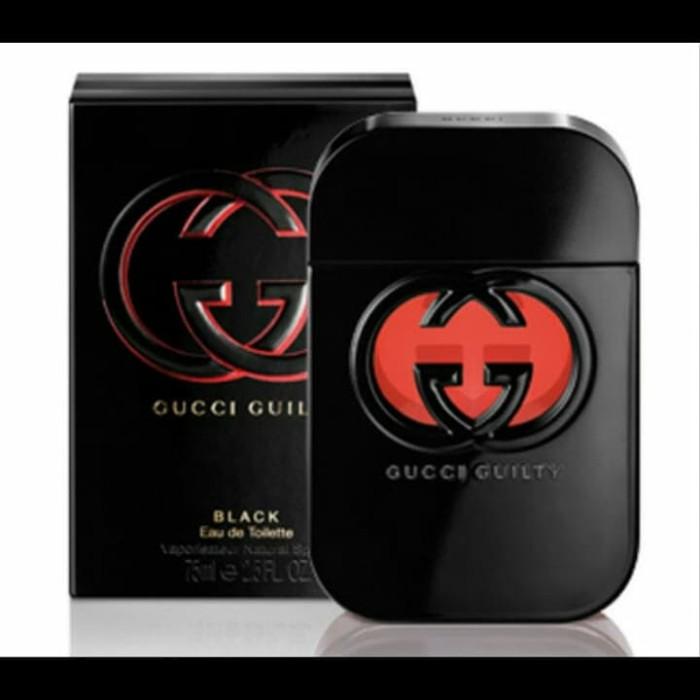 Jual Parfum Original Untuk Wanita Gucci Guilty Black Edt 75ml