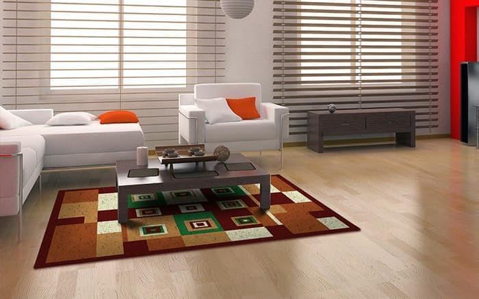 Karpet Bulu Tikar Karpet Minimalis PP Rugs Modern 09 Ukuran 115 x 155