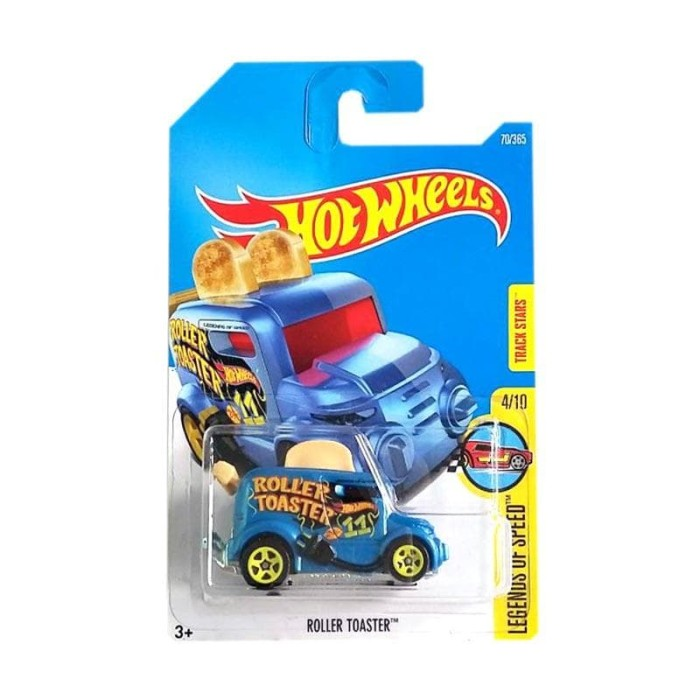 Hot Wheels Mobil Roti Roller Toaster Biru