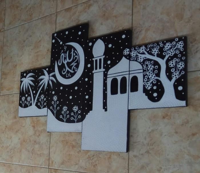 76+ Gambar Masjid Hitam Putih HD