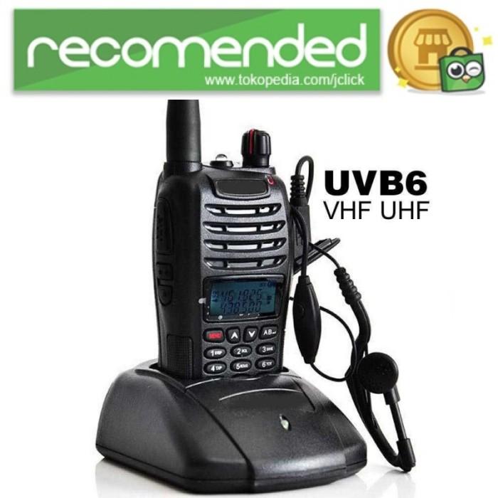 Foto Produk Taffware Walkie Talkie Dual Band Two Way Radio 5W 99CH UHF VHF - UV-B dari JClick