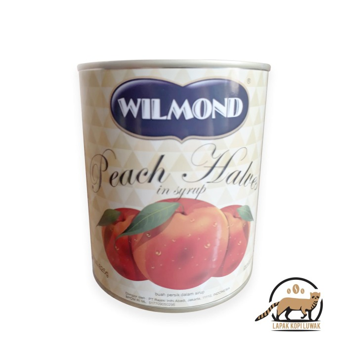 harga Willmond peach halves in syrup canned / buah peach kaleng Tokopedia.com