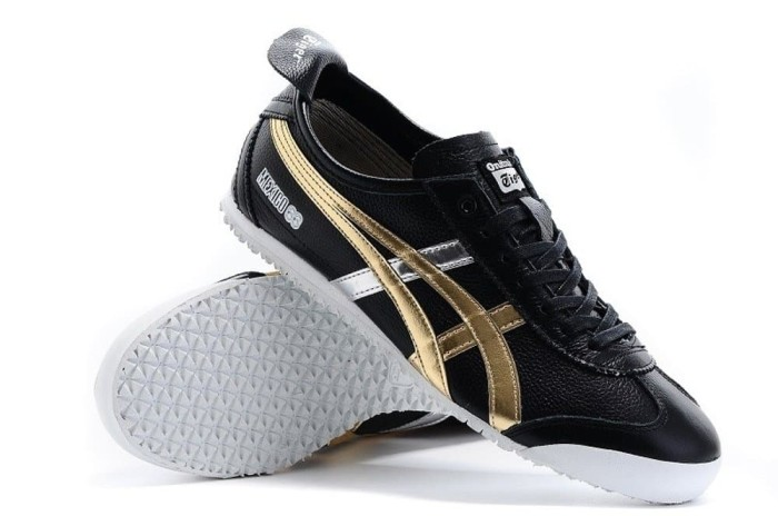 huge discount 5ea8a 44352 Jual Asics onitsuka tiger mexico 66 black gold sneakers d5v2l-9094 - DKI  Jakarta - brainlystore | Tokopedia