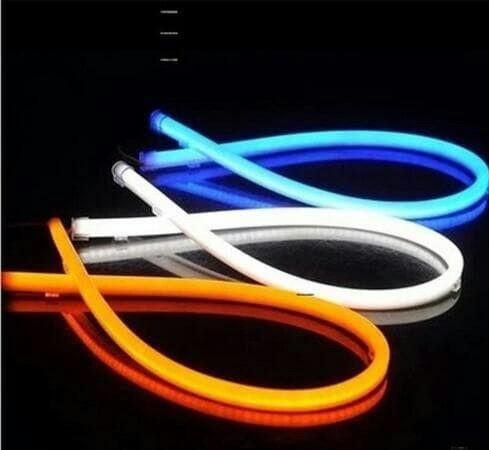 Foto Produk LAMPU LED ALIS NEON 60 CM DRL FLEXIBLE/FLEKSIBEL VARIASI MOTOR MOBIL dari TejaMart