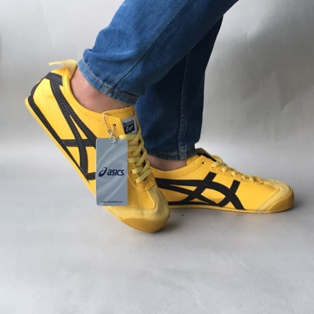 buy popular 002f9 a4b65 Jual Sepatu Asics Onitsuka Tiger Yellow Black High Qality With Box -  Kuning, 37 - Kota Tangerang Selatan - Sports Unlimited | Tokopedia