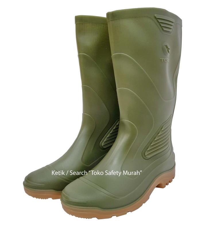 Sepatu Boot Ap Terra Eco 3   Eco3 Hijau Karet Tinggi Panjang Original 0945ebed05