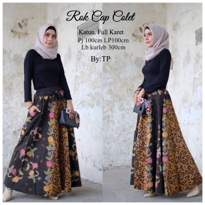 Jual rok-rok batik-rok murah-rok panjang - Batik Rini  2af9c8ca95