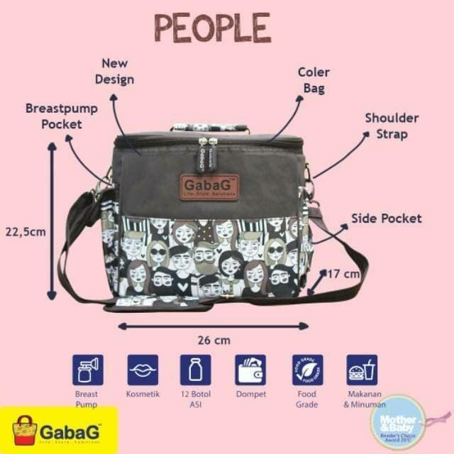 Cooler bag gabag people