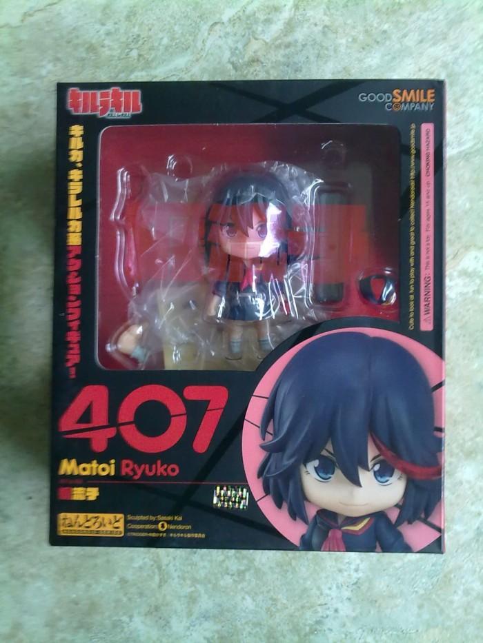 NEW*Good Smile Nendoroid 407 Kill la kill Matoi ryuko PVC Figure New In Box