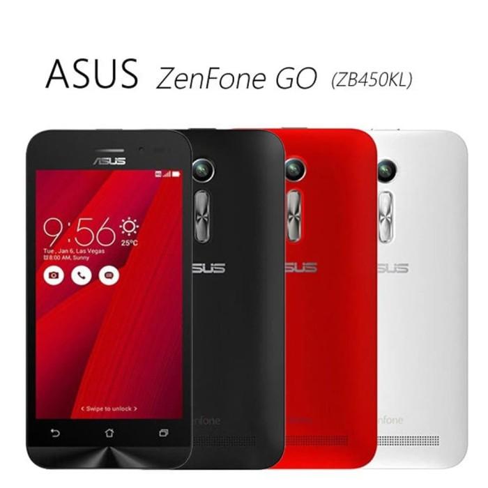 NEW ASUS ZENFONE GO ZB450KL 4G LTE RAM 1GB - INTERNAL 8 Diskon