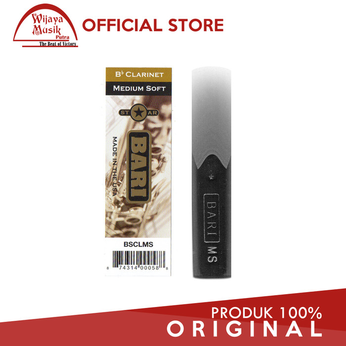 harga Bari star reed clarinet medium soft bsclms Tokopedia.com