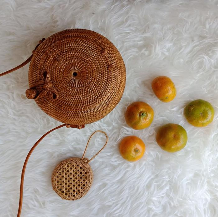 Foto Produk Tas rotan khas Lombok dari somasky