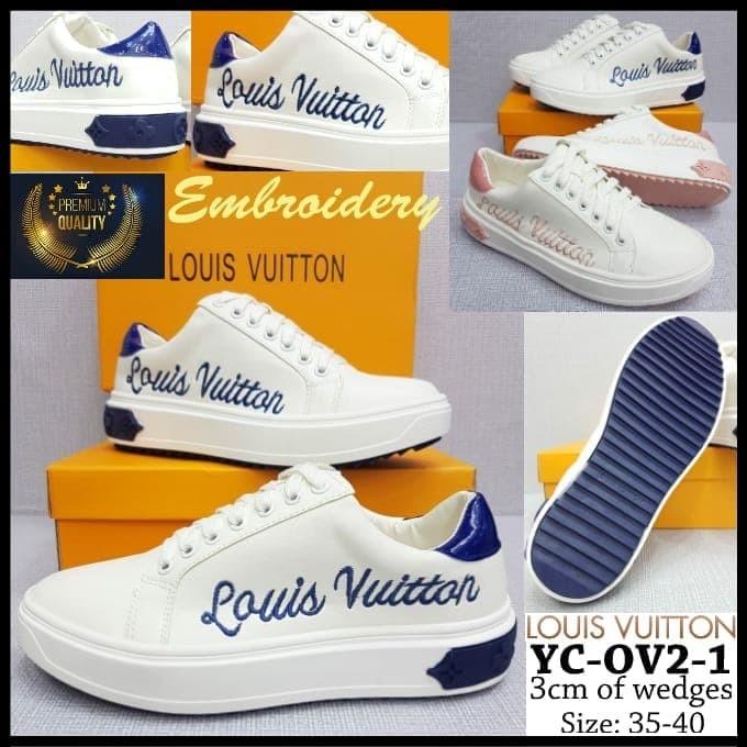12729997e8 Jual Sepatu Louis Vuitton YC-OV2-1 Time Out Trainer Sneaker Sol 3cm - DKI  Jakarta - ANEKAGROSIR888 | Tokopedia