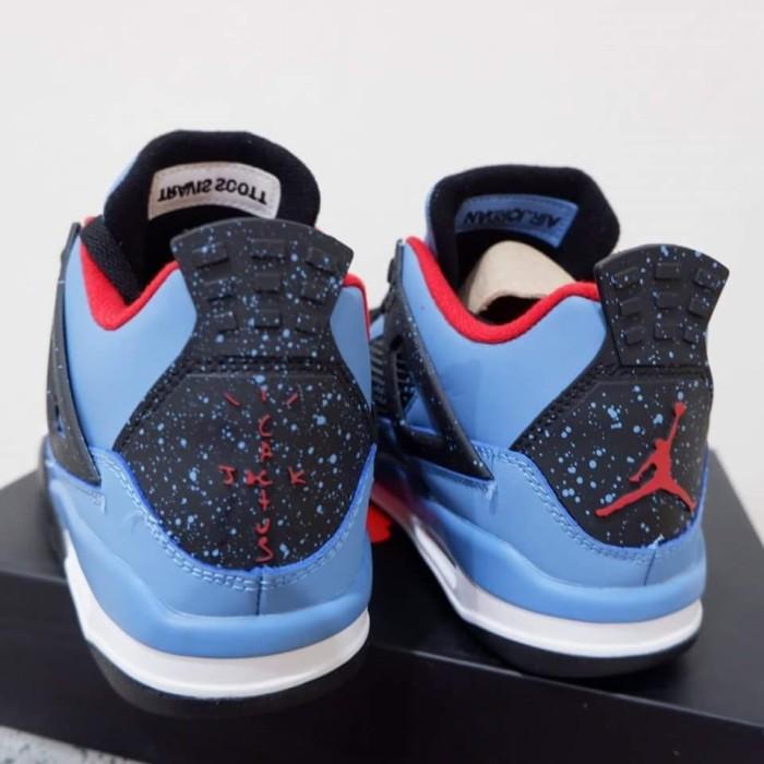 79dc3282940f3 Jual Murah Sepatu Basket Air Jordan 4 Retro Cactus Jack Premium Di ...