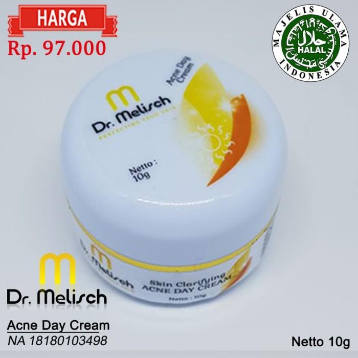 Acne Day Cream Dr Melisch 100% Kualitas Terbaik Untuk Wajah Berjerawat