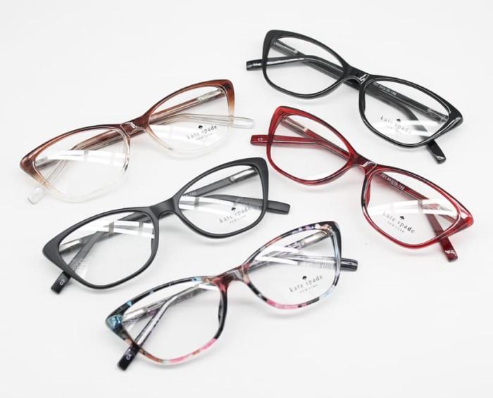 Jual Frame Kacamata Minus Kate Spade 107 Cat Eye Wanita Pink ... 784357149f