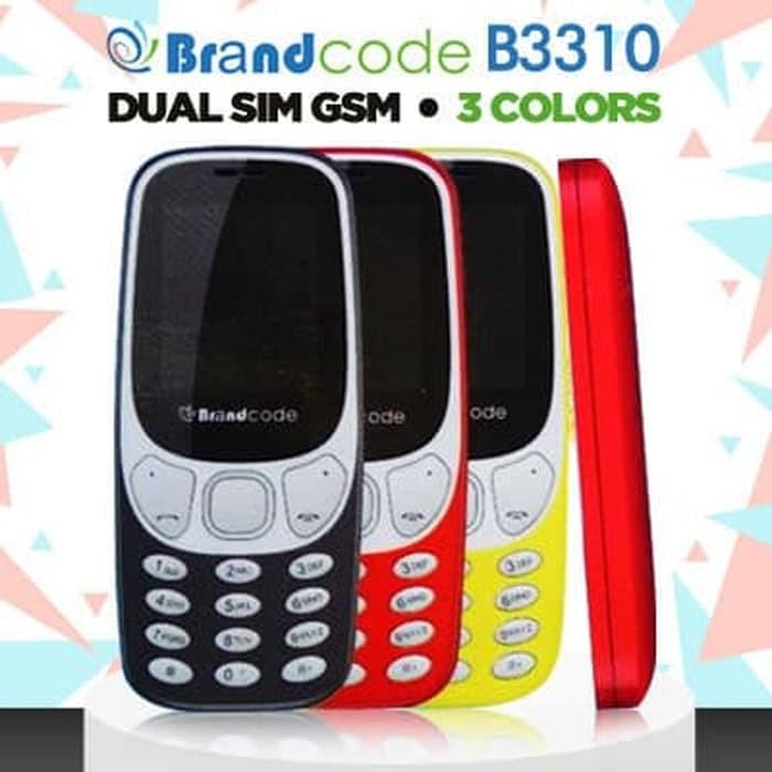 harga Brandcode 3310 dual sim - garansi resmi 1 tahun Tokopedia.com