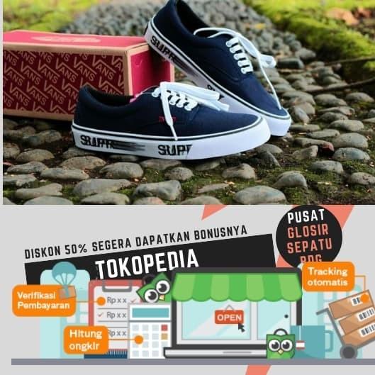 Jual Free Sale !!! Sepatu Murah Vans Era Impor Supreme Terlaris ... 6613050191
