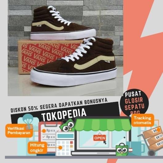 Jual Free Sale !!! Sepatu Murah Casual Vans Sk8 Impor Terlaris ... 12af567508