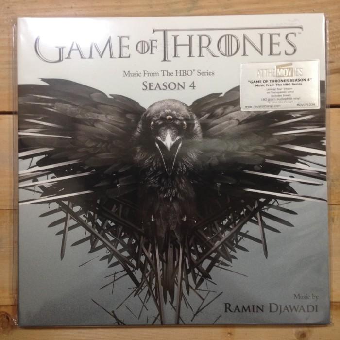 harga Vinyl ost - ramin djawadi - game of thrones (hbo series) season 4 Tokopedia.com
