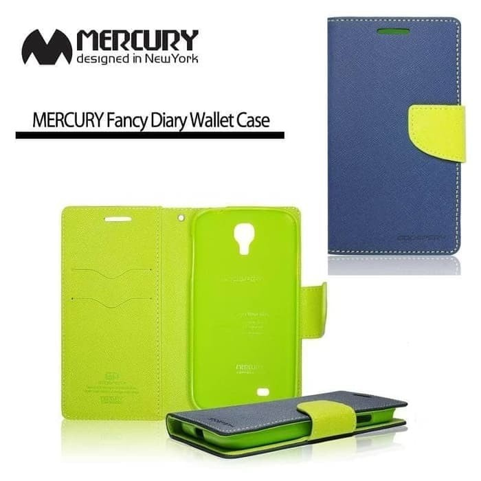 Flip Case LG G2 Mini Mercury Wallet Canvas Diary Leather Cover Casing