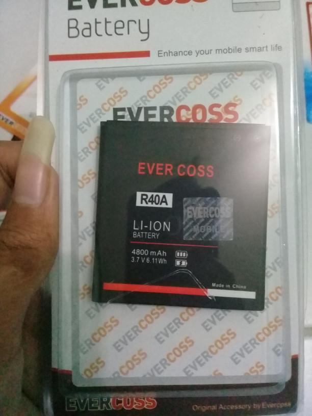 harga Baterai batre cross evercoss r40a winner t ultra original Tokopedia.com