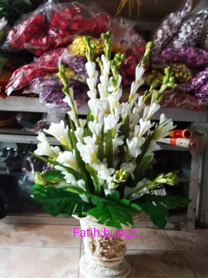 Jual Bunga Sedap Malam Bunga Hias Bunga Plastik Kota Bogor Fatih Bunga Plastik Tokopedia