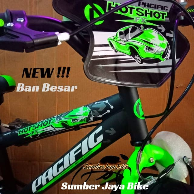 Sepeda BMX 18 Inch Pacific Sport 300 NEW