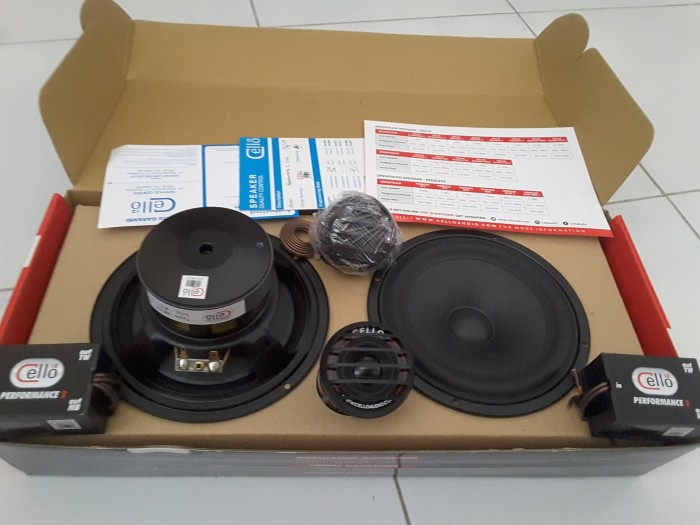 Jual Cello Performance 2 Two Speaker 2 Way Fullrange Kota Surabaya Alienaudio Tokopedia